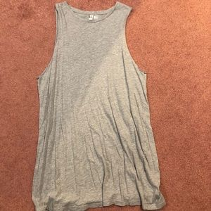 H&M Divided T-shirt Tank Dress Size M